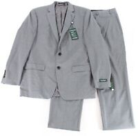 Lauren By Ralph Lauren Gray Mens Size 40 Short Stretch Two Button Suit $650 041