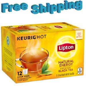 Lipton Natural Energy Black Tea Keurig k-cups