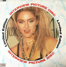 MADONNA ‎- Limited Edition Interview (Picture Disc) (LP) (EX/VG+)