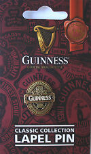 GUINNESS GIFT LAPEL PIN FROM THE CLASSIC COLLECTION - OFFICIAL MERCHANDISE