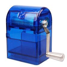 1*Hand Crank Crusher Smoking Case #V Tobacco Cutter Grinder Hand Muller Shredder