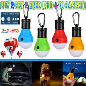 LED Camping Tent Light Bulb Portable Outdoor Hanging Fishing Lantern Hiking Lamp