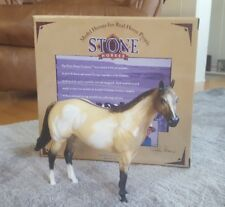 "Peter Stone ""Matinee Idol"" Buckskin Paint Ideal Stock Horse - 1998 - Nib"