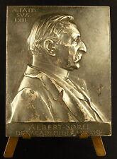 Médaille Historien Albert Sorel Académie française Honfleur Chaplain 1904 Medal