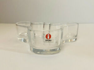 iittala Alvar Aalto Collection Malja Bowl Vase Clear Made in Finland 136mm x 40