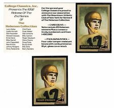 Roger Staubach Navy Midshipmen Heisman Card & Dealer Promo Card FREE Ship