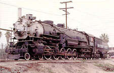 "Southern Pacific 4-10-2 steam locomotive #5021 ""Overland"" railway train postcard"