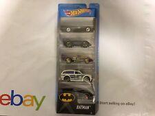 Hot Wheels Batman Batmobile 5 Pack Classic TV Series NIB 2017