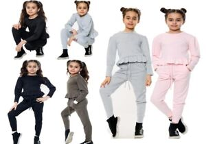 ebay Brand SUCCI SILVO Girl's kid Long Sleeve Top and Trouser Bandeau Style set