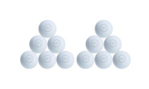 1 Dozen New Brine white lacrosse balls 12 total NCAA certified LB6PKS3