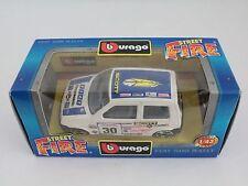 [PH3-18] BBURAGO BURAGO 1/43 STREET FIRE #4138 FIAT 500 RALLY N.30 SCOTT NIB