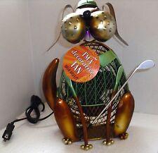 Deco Breeze Bogey Dog Golfer figurine personal fan Retired discontinued