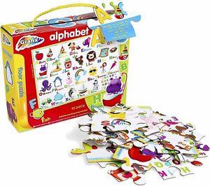Alphabet Floor Jigsaw Large Giant Kids Floor Puzzle Complete Activity Puzzle Lea