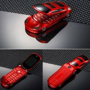 """1.8""""  Screen NEWMIND F15 Flip Phone With Dual SIM Camera Luxury Car Cell phone"""