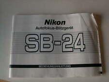 Bedienungsanleitung Nikon SB-24,SB24