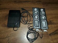 Philips MMS321 Computer PC Speakers 80w 3.5mm Jack Wired Audio Gaming Tested