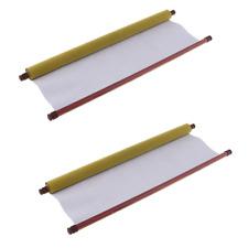 2Pcs Large Magic Water Writing Cloth Blank Mats Calligraphy Practice Supply