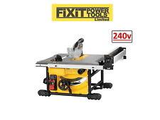 DeWalt DWE7485-GB 240V 210mm 1850W Compact Table Saw New