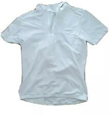 Btwin White Cycle Jersey / Shirt Large (EUR)
