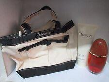 CALVIN KLEIN VINTAGE OBSESSION SET: 1.7oz EAU DE PARFUM+ 3.4 oz SHOWER GEL & BAG