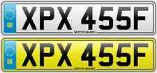 CHERISHED NUMBER PLATE -XPX 455F - XPX XX P BIG BLOCK V8 GTO PONTIAC FIREBIRD