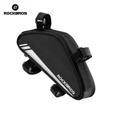 ROCKBROS Cycling Frame Bag Bike Triangle Bag Pannier Portable Pack Black New