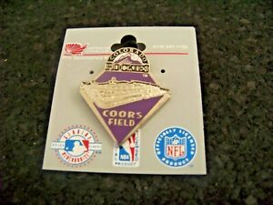 1998 Coors Field lapel pin MLB Colorado Rockies