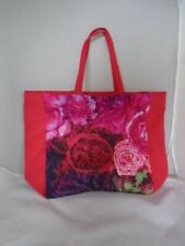 "Roger & Gallet Tote BAG with flower Prints 15.5"" x 20.5"""