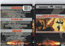 Mission Impossible 1 2 3 - Premium Collection (DVD, 2007, 3-Disc Set)