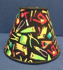 Black Tools Handmade Lampshade Lamp Shade Handyman