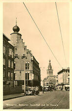 NIMEGUEN (Netherlands):Restored Town Hall and St Steve's RP-WAR GRAVES COMMITTEE