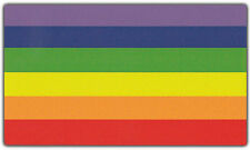 LGBT Bumper Stickers: GAY PRIDE RAINBOW FLAG Support Gay Lesbian Transgender Bi