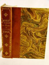 Webster. Chevalier de Boufflers A Romance French Revol.  Bonneau Signed Binding