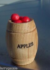 APPLE BARREL MINIATURE 1/24 SCALE G SCALE DIORAMA ACCESORY ITEM