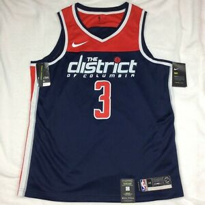 Nike Bradley Beal Navy Washington Wizards Swingman Jersey NBA Size L