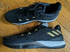 NEW Adidas CRAZY LIGHT BOOST 2 MENS Size 13 SNEAKERS TRAINERS BLACK