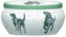 Royal Worcester Wrendale Design candle tin Dog Walkies scented boutique candle