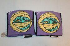 2 MADBALLS Dust Brain Mummy VINTAGE 1986 ELBOW KNEE PADS HTF Toy RARE Skater