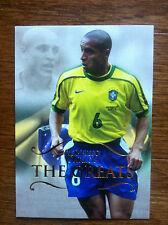 2011 Futera Greats Unique Soccer Card - Brazil ROBERTO CARLOS Mint
