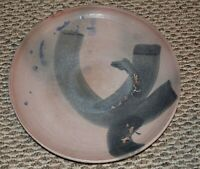 1970 AFRICAN AMERICAN ARTIST SCULPTURE CAMILLE BILLOPS PLATE ORIGINAL EARLY