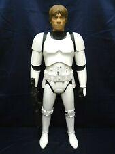 """Star Wars Stormtrooper Disguise Luke Skywalker 31"""" Figure Jakks Pacific"""
