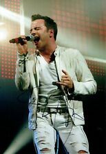 Shane FILAN Signed Autograph 12x8 Photo A AFTAL COA Irish Singer Westlife