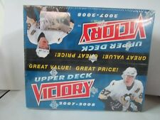 2007-08 UD VICTORY HOCKEY HOBBY SEALED BOX