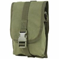 CONDOR 191044-001 OD Green Tactical MOLLE Small Utility Storage Tool Pouch