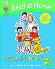 NEW Level 2 READ AT HOME - Kipper's STICKER BOOK  Oxford Reading Tree (CREASED)