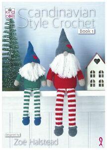 King Cole Pattern Book - Scandinavian Style Crochet 1