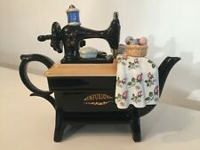 More details for cardew designs infusion sewing machine large teapot
