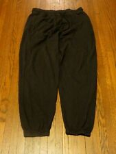 Men's Urban Outfitters UO Tech Black Jogger Sweatpants sz L