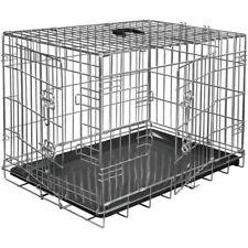 Cage métallique pliable solide Classic  48 x 30 x 38 cm  Argent  Pour chien