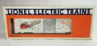 Lionel 6-19908 1989 Christmas Holiday Season's Greetings BoxCar w Box, White